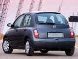 Nissan Micra Elegance 5-door (K12C) 2007 wallpapers