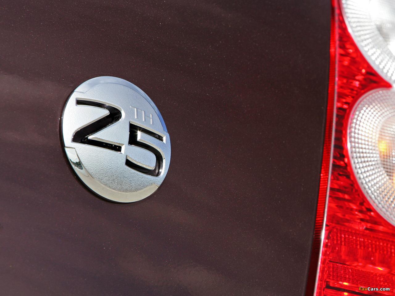 Nissan Micra 5-door 25th Anniversary (K12C) 2008 images (1280 x 960)