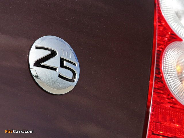 Nissan Micra 5-door 25th Anniversary (K12C) 2008 images (640 x 480)