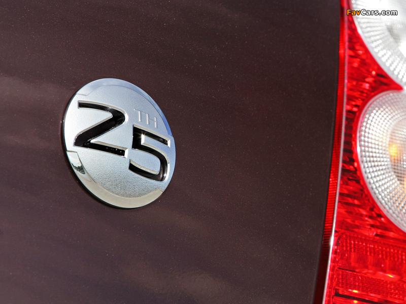 Nissan Micra 5-door 25th Anniversary (K12C) 2008 images (800 x 600)