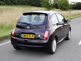 Nissan Micra 3-door 25th Anniversary UK-spec (K12C) 2008 pictures
