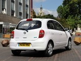Nissan Micra 5-door UK-spec (K13) 2010 images