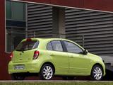 Nissan Micra 5-door (K13) 2010 images
