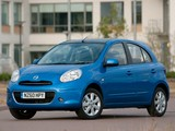 Nissan Micra 5-door UK-spec (K13) 2010 photos