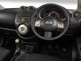 Nissan Micra 5-door ZA-spec (K13) 2011 pictures