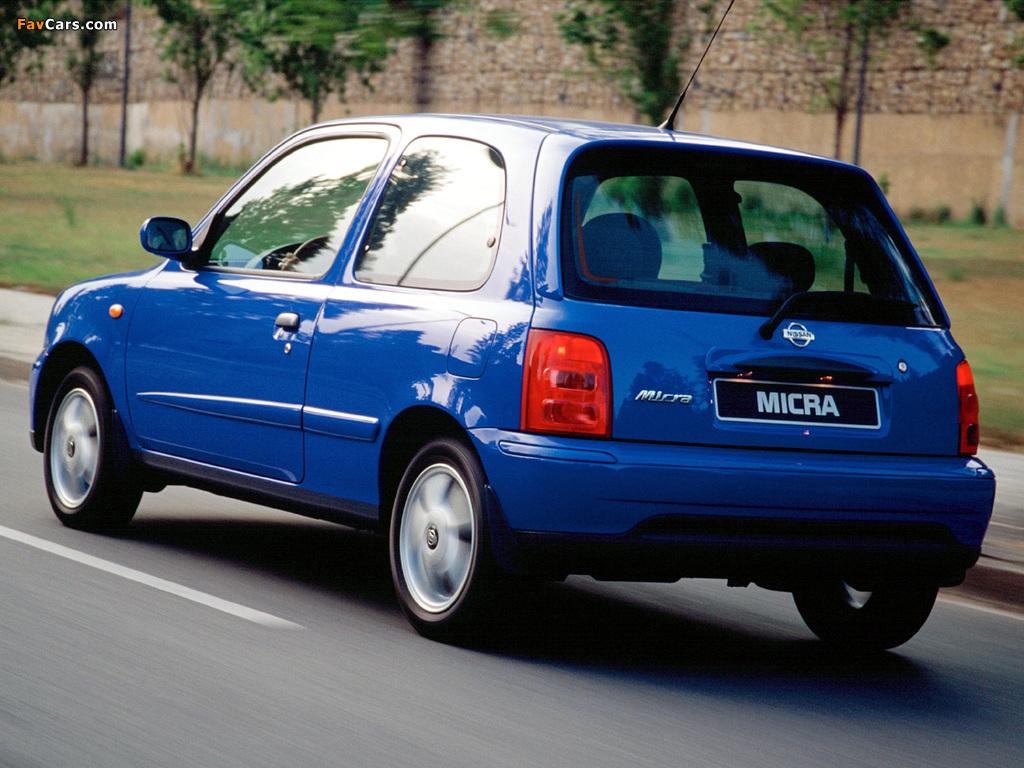 Photos of Nissan Micra 3-door (K11C) 1999–2003 (1024 x 768)