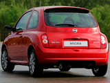 Photos of Nissan Micra 160SR 3-door (K12) 2005–07