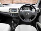 Photos of Nissan Micra 3-door 25th Anniversary UK-spec (K12C) 2008