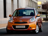 Photos of Nissan Micra 5-door UK-spec (K13) 2010