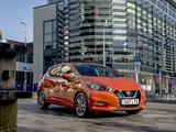 Photos of Nissan Micra UK-spec (K14) 2017