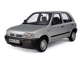 Pictures of Nissan Micra 5-door (K11) 1992–97