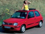 Pictures of Nissan Micra Canvas Top (K11B) 1997–99