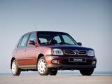 Pictures of Nissan Micra 5-door (K11C) 1999–2003