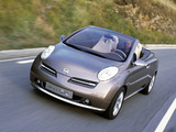Pictures of Nissan Micra C+C Concept (K12) 2002