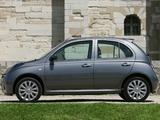 Pictures of Nissan Micra 160SR 5-door (K12) 2005–07
