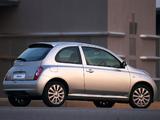 Pictures of Nissan Micra dCi 3-door ZA-spec (K12C) 2006–07