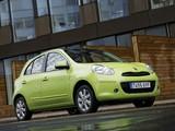 Pictures of Nissan Micra 5-door (K13) 2010