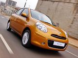 Pictures of Nissan Micra 5-door ZA-spec (K13) 2011