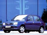 Nissan Micra 5-door (K11C) 1999–2003 wallpapers
