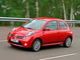 Nissan Micra 160SR 3-door (K12) 2005–07 wallpapers