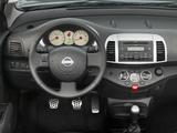 Nissan Micra C+C (K12C) 2007–10 wallpapers