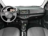 Nissan Micra 5-door (K12C) 2007–10 wallpapers