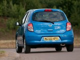 Nissan Micra 5-door UK-spec (K13) 2010 wallpapers