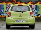 Nissan Micra 5-door (K13) 2010 wallpapers