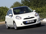 Nissan Micra DIG-S 5-door (K13) 2011 wallpapers