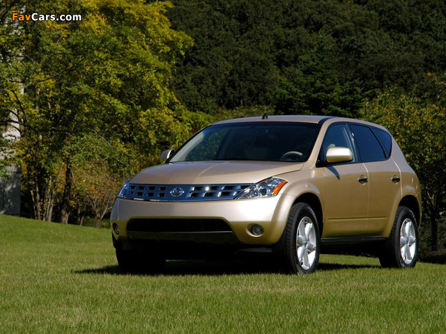 Nissan Murano (Z50) 2003–08 images (640 x 480)