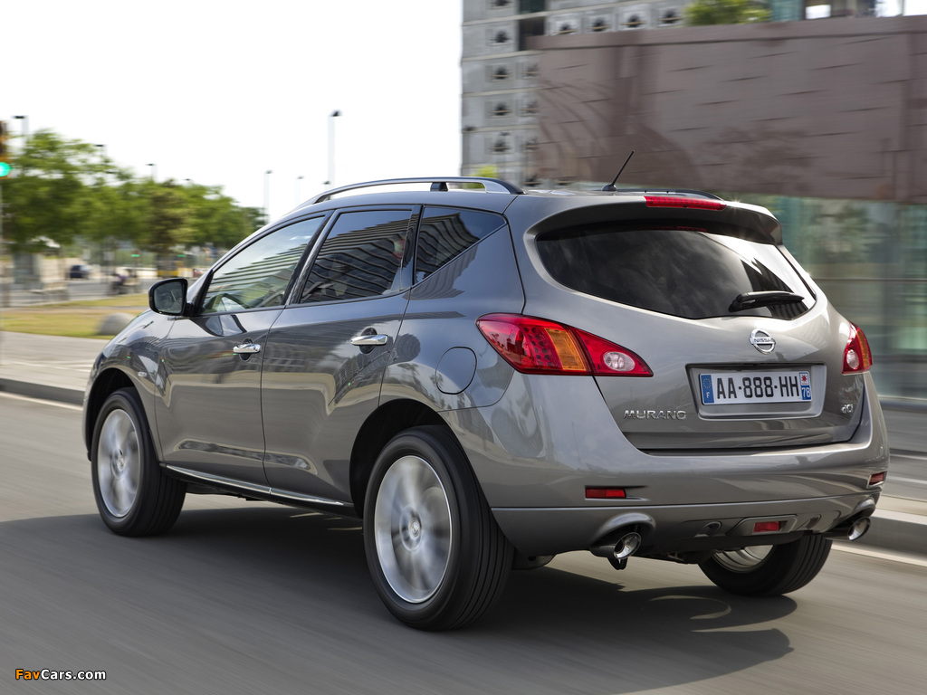 Nissan Murano (Z51) 2010 pictures (1024 x 768)