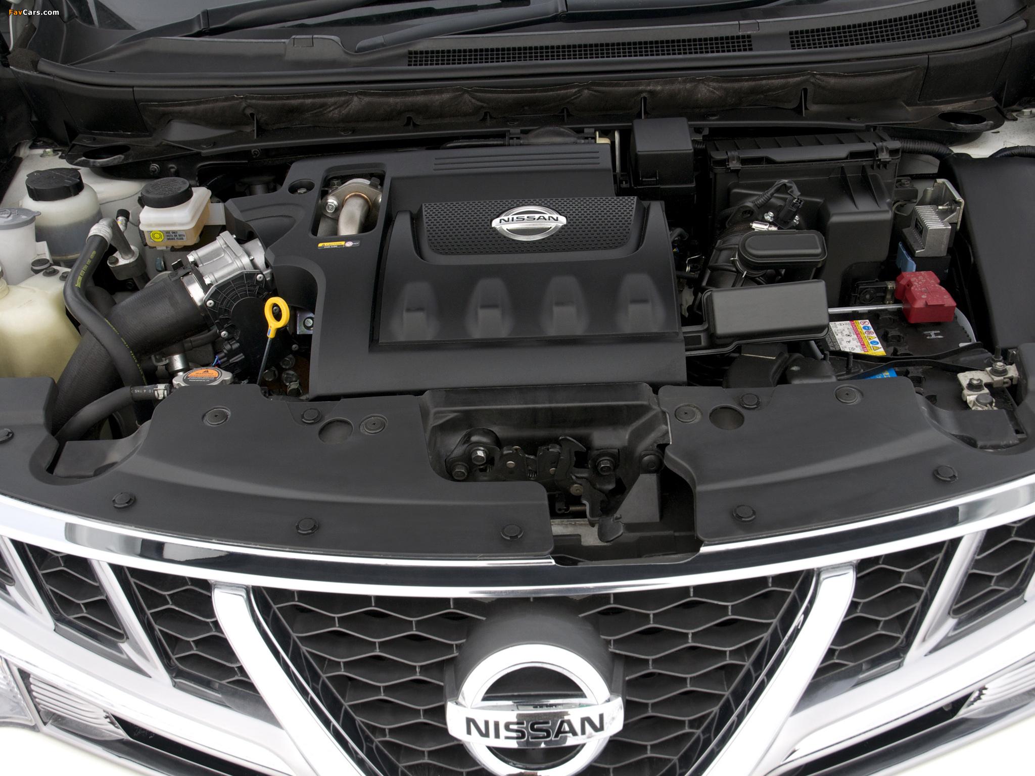 Nissan Murano dCi UK-spec (Z51) 2010–11 pictures (2048 x 1536)