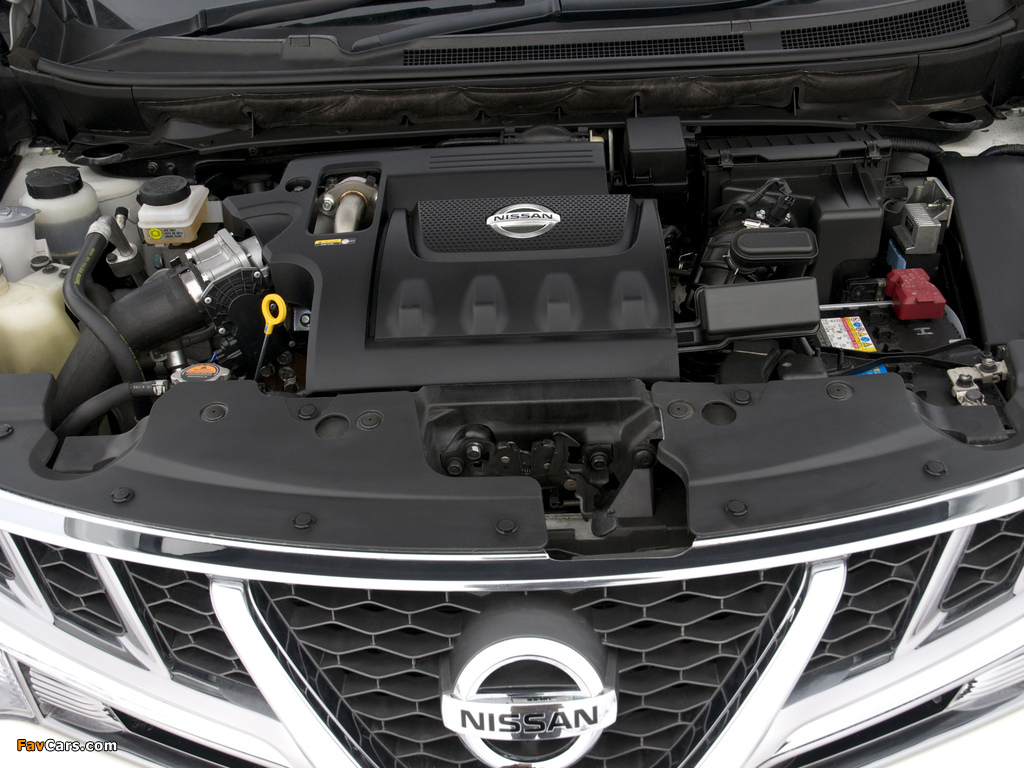 Nissan Murano dCi UK-spec (Z51) 2010–11 pictures (1024 x 768)