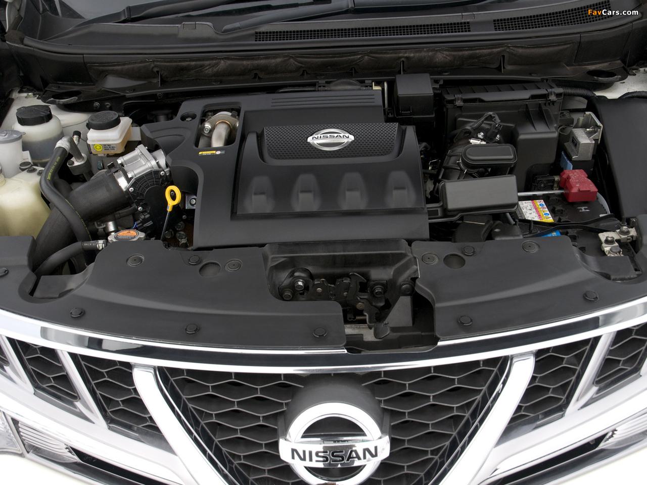 Nissan Murano dCi UK-spec (Z51) 2010–11 pictures (1280 x 960)