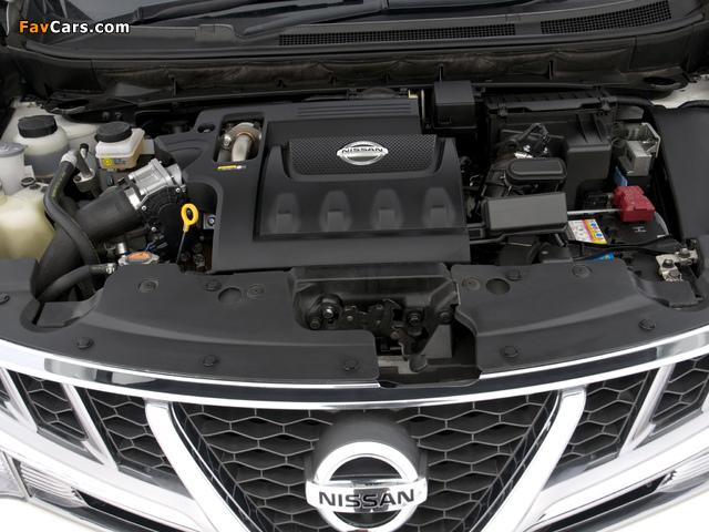 Nissan Murano dCi UK-spec (Z51) 2010–11 pictures (640 x 480)