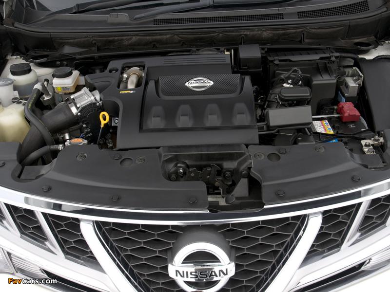 Nissan Murano dCi UK-spec (Z51) 2010–11 pictures (800 x 600)