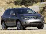 Pictures of Nissan Murano US-spec (Z51) 2008–10