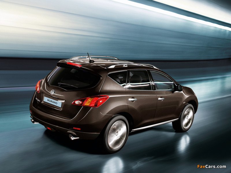 Nissan Murano Z51 2008 10 Wallpapers 800x600