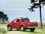 Nissan Navara Double Cab UK-spec (D40) 2005–10 images
