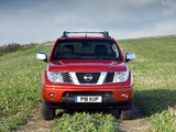 Nissan Navara Double Cab UK-spec (D40) 2005–10 photos