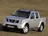 Nissan Navara Double Cab (D40) 2005–10 photos