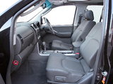 Nissan Navara Double Cab UK-spec (D40) 2005–10 wallpapers