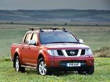 Photos of Nissan Navara Double Cab UK-spec (D40) 2005–10