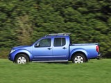 Photos of Nissan Navara Double Cab UK-spec (D40) 2010