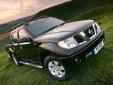Pictures of Nissan Navara Double Cab UK-spec (D40) 2005–10
