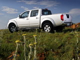 Pictures of Nissan Navara Double Cab (D40) 2005–10