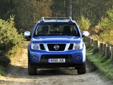 Pictures of Nissan Navara Double Cab UK-spec (D40) 2010