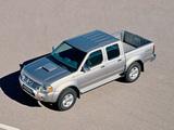 Nissan Pickup Navara Crew Cab (D22) 2001–05 wallpapers