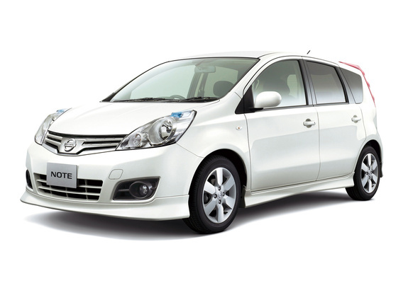 nissan note 15rs jp spec e11 2008 photos. Black Bedroom Furniture Sets. Home Design Ideas