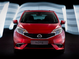 Nissan Note Dynamic UK-spec (E12) 2013 images